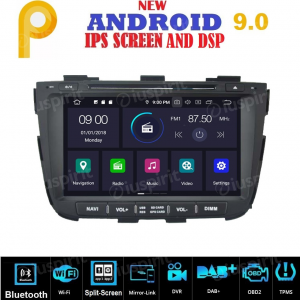 ANDROID 9.0 autoradio 2 DIN navigatore per Kia Sorento 2013-2014 GPS DVD WI-FI Bluetooth MirrorLink