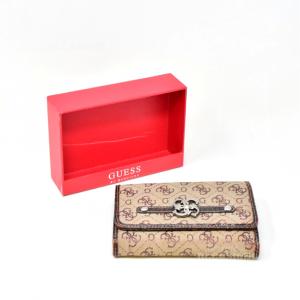 Portafoglio Guess Marrone Usato Con Scatola Originale
