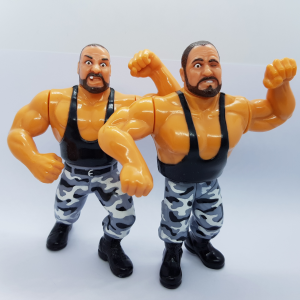 WWF Hasbro Vintage Series: THE BUSHWHACKERS by Hasbro