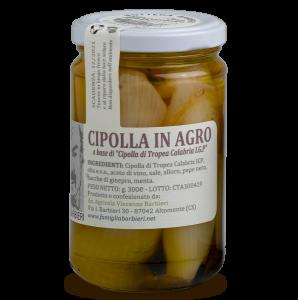 Cipolla rossa di Tropea in agro per antipasti, contorni e bolliti