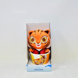 Peliches+tazza Little Dreamers Tigre