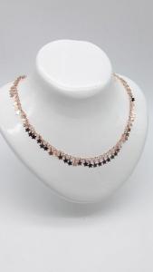 Collana Donna fantasia di stelle in argento ramato, vendita online | GIOIELLERIA BRUNI Imperia