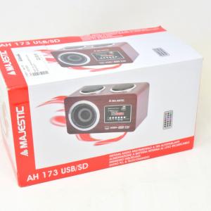 Radio + Sd + USB Maajestic Color Legno Scuro