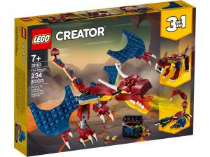 LEGO CREATOR DRAGO DEL FUOCO 31102