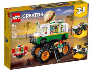 LEGO CREATOR MONSTER TRUCK DEGLI HAMBURGER 31104
