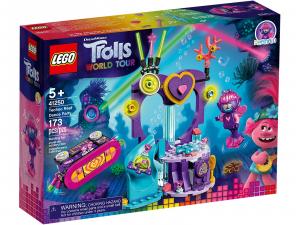 LEGO TROLLS FESTA TECHNO ALLA BARRIERA CORALLINA 41250