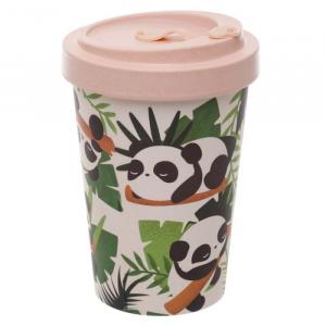Tazza in Bambù con Panda