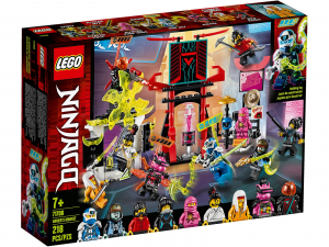 LEGO NINJAGO IL MERCATO DEI NINJA GAMERS 71708