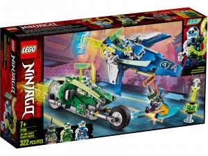 LEGO NINJAGO I BOLIDI DI VELOCITÀ DI JAY E LLOYD 71709