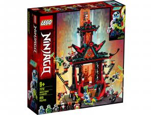 LEGO NINJAGO IL TEMPIO DELLA FOLLIA IMPERIALE 71712