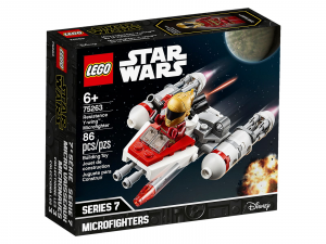 LEGO STAR WARS MICROFIGHTER Y-WING DELLA RESISTENZA 75263
