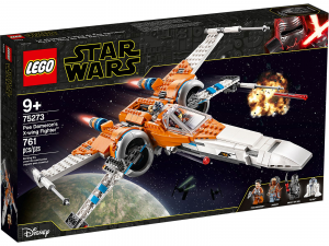 LEGO STAR WARS X-WING FIGHTER DI POE DAMERON 75273