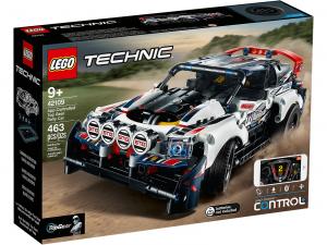 LEGO THECNIC AUTO DA RALLY TOP GEAR TELECOMANDATA 42109