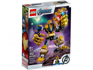 LEGO SUPER HEROES MARVEL MECH THANOS 76141