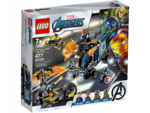 LEGO SUPER HEROES MARVEL AVENGERS - ATTACCO DEL CAMION 76143