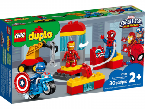 LEGO DUPLO IL LABORATORIO DEI SUPEREROI 10921