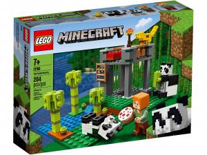 LEGO MINECRAFT L'ALLEVAMENTO DI PANDA 21158