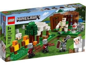 LEGO MINECRAFT L'AVAMPOSTO DEL SACCHEGGIATORE 21159