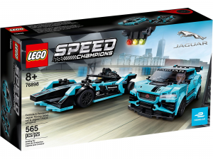 LEGO SPEED CHAMPIONS FORMULA E PANASONIC JAGUAR RACING GEN2 CAR + JAGUAR I-PACE ETROPHY 76898