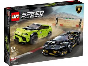 LEGO SPEED CHAMPIONS LAMBORGHINI URUS ST-X + LAMBORGHINI HURACÁN SUPER TROFEO EVO 76899