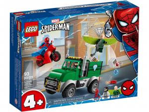 LEGO SUPER HEROES SPIDERMAN AVVOLTOIO E LA RAPINA DEL CAMION 76147