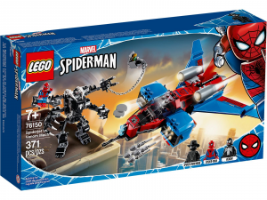 LEGO SUPER HEROES SPIDERMAN SPIDERJET VS. MECH VENOM 76150