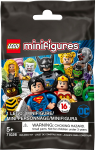 LEGO MINIFIGURES DC SUPER HEROES SERIES MINIFIGURES 71026