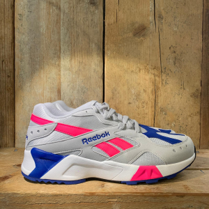 AZTREK GREY/ACID PINK/ROYAL/WHITE