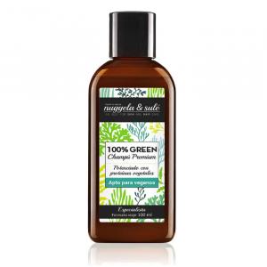 Nuggela e blu al 100% Verde Shampoo Adatto vegani 100ml