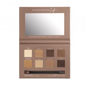 Bourjois Palette Yeux 4 En 1 Eyeshadow 02 Rue De Café Chocolar Nude Edition