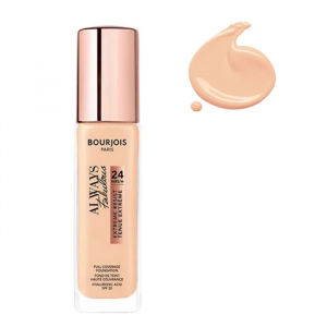 Bourjois Always Fabulous Foundation 24H Spf20 100 Ivory Pink  30ml
