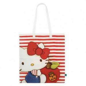 Shopper Hello kitty in tessuto Thun