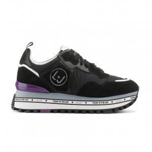 Sneaker nera con fondo platform Liu Jo