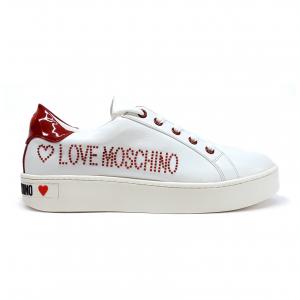 Sneaker bianca Love Moschino