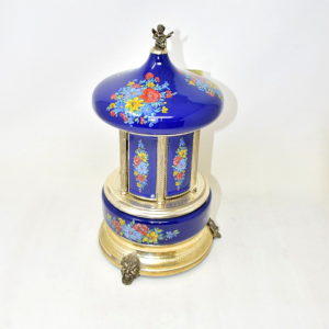 Carillon Porta Sigarette Reuge Made In Italy (meccanismo Funzionante)