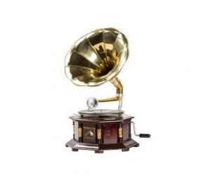 Grammofono esagonale