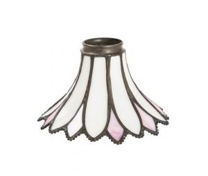 paralume tiffany rosa 17cm