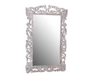 specchio bianco lavorato 150cm
