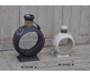 Lanterna Industrial bianco 40cm