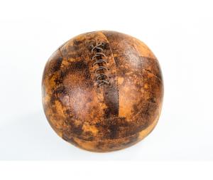 Fermaporta in ecopelle Football vintage retrò