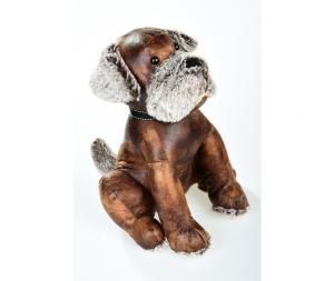 Fermaporta in ecopelle  Dog 35cm