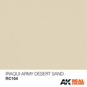 Iraqi Army Desert Sand