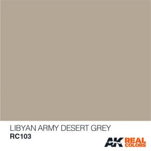 Libyan Army Desert Grey