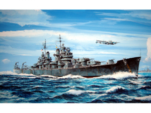 USS BALTIMORE CA-68 1943