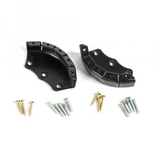 Kit black toe cup + screws