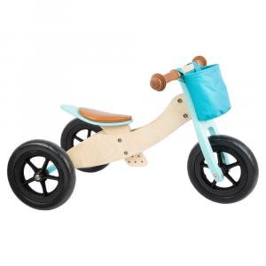 Triciclo Trike Maxi 2 in 1 turchese