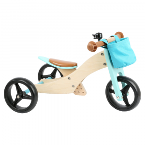 Triciclo Trike 2 in 1 turchese