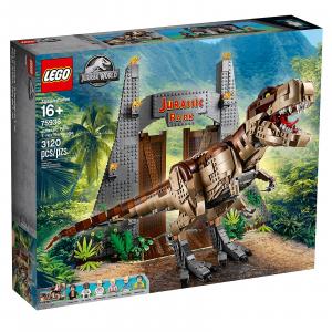 LEGO JURASSIC WORLD JURASSIC PARK: LA FURIA DEL T.REX 75936