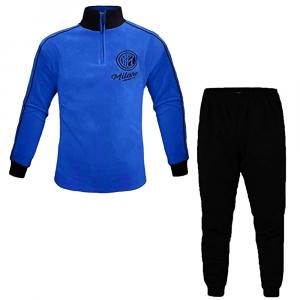 INTER pigiama nero e azzurro in pile bambino - 10/16 anni