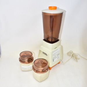 Frullatore Moulinex Vintage Funzionante Con Due Ricambi Lame